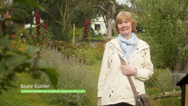Gartenprojekt der SKM Wohngruppe in Köln