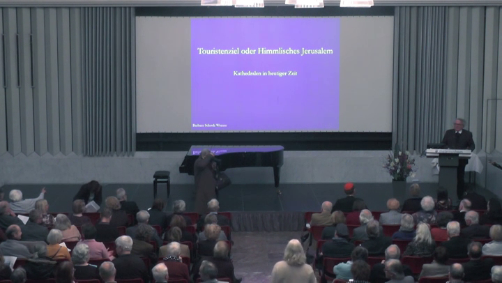 Video: Begrüßung Prälat Josef Sauerborn